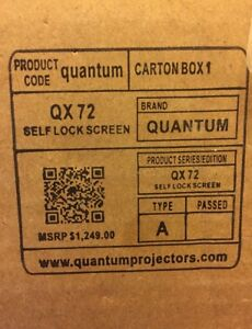 "72"" HD Projector Screen"