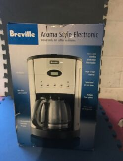 Breville electronic coffee machine