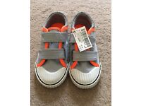 Brand new little boys shoes size 6 by next