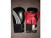 Adidas 18oz boxing gloves
