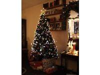 Christmas tree fibre optic