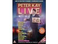 2X PETER KAY LIVE NEWCASTLE ARENA TICKETS 01/03/19