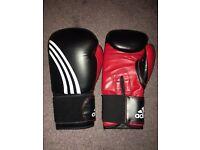 Adidas 18oz boxing gloves