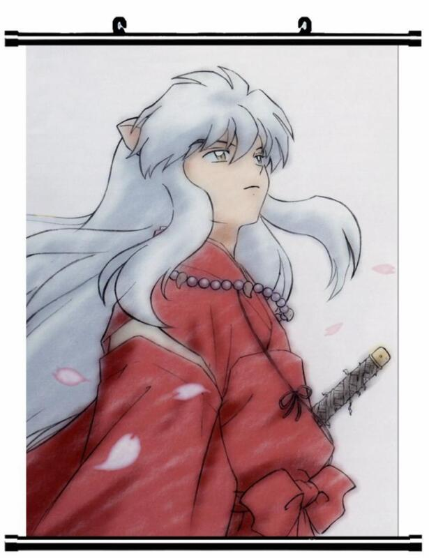 HOT Japan Anime InuYasha Sesshoumaru Home Decor poster Wall Scroll 40*60cm