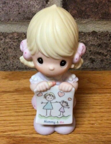 Precious Moments Figurines Mommy and Me 115901 Girl w/ Picture 2003