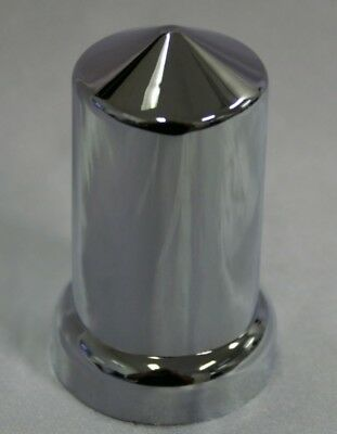 20 x Wheel nut Covers 33mm Pointed chrome KenworthFreightlinerWestern star