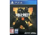Call of duty Black ops PS4 game brand new unopened