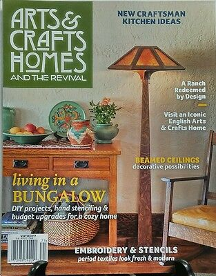 Arts & Crafts Homes And The Revival Winter 2017 Living Bungalow FREE SHIPPING sb ()