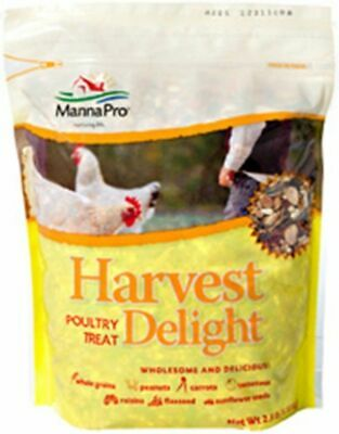 Harvest Delight Poultry Treat 2.5 Wholesome Natural Grain Peanuts Vegetables