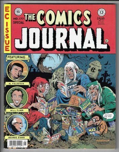 Comics Journal #177 VF/NM EC Comics