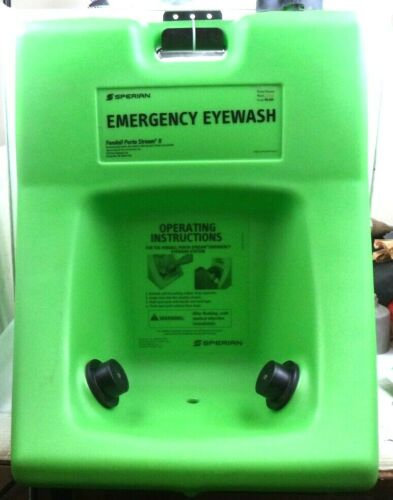 Sperian Fendall Porta Stream II Emergency Eye Wash Station, Model PS-II