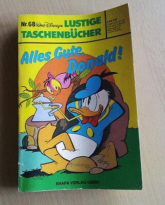 Walt Disneys - Alles Gute, Donald! Taschenbuch N. 68 - mittelguter Zustand