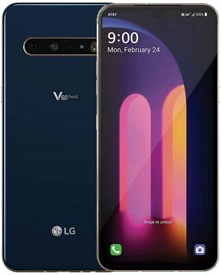 Android Phone - GSM UNLOCKED LG V60 5G ThinQ 🔥 128GB Blue (AT&T Branded)