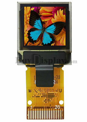 0.6 Inch Micro Color Oled Display Panel Rgb 64x64 With Ssd1357 Spi Interface