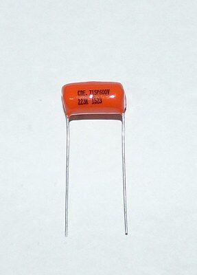 Sprague Orange Drop 715p Film And Foil .022uf 600v Capacitors Radial Leads