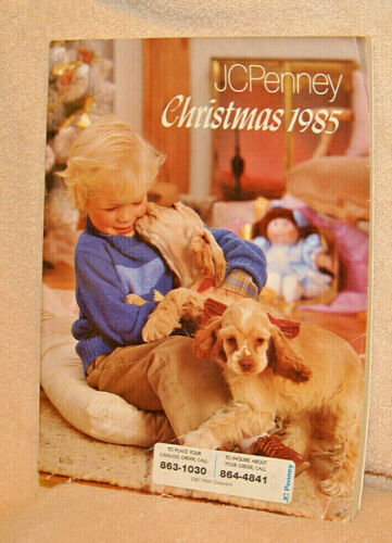 1985 JC PENNEY Christmas catalog - Excellent condition