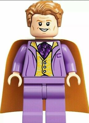 LEGO Harry Potter Gilderoy Lockhart Minifigure Mini Fig 75978 RARE NEW Exclusive