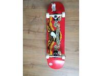 Anti hero brand new skateboard set up