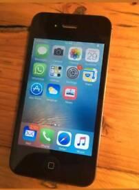 Iphone 4 Black 16-GB Excelent Condition.