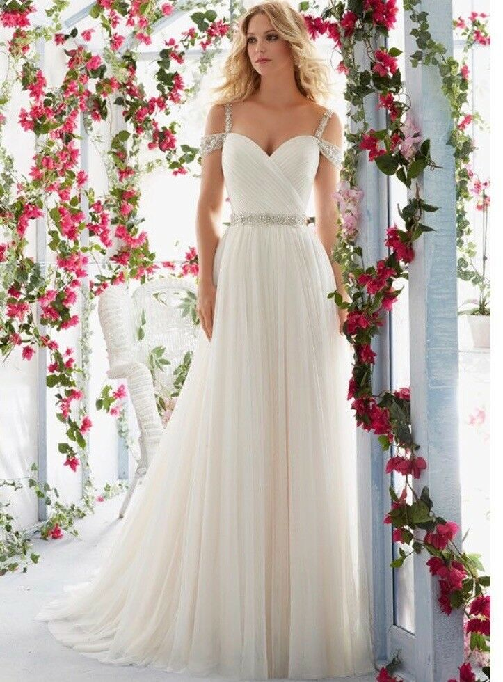 Wedding Dress Mori Lee size 12 | in Cromer, Norfolk | Gumtree