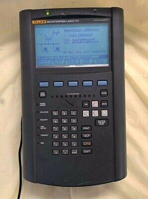 Fluke 683 Enterprise Lanmeter 10100 Ethernet Good Condition