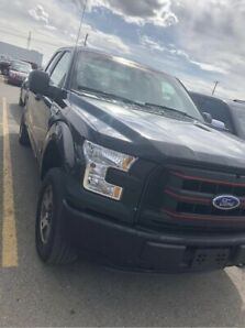 2015 ford F150 NO CLAIMS ,NO ACCIDENTS LOCAL TRUCK 21500 124KM