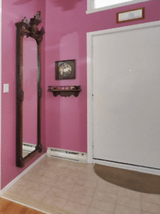 Antique Victorian Eastlake  Mirror  90x31