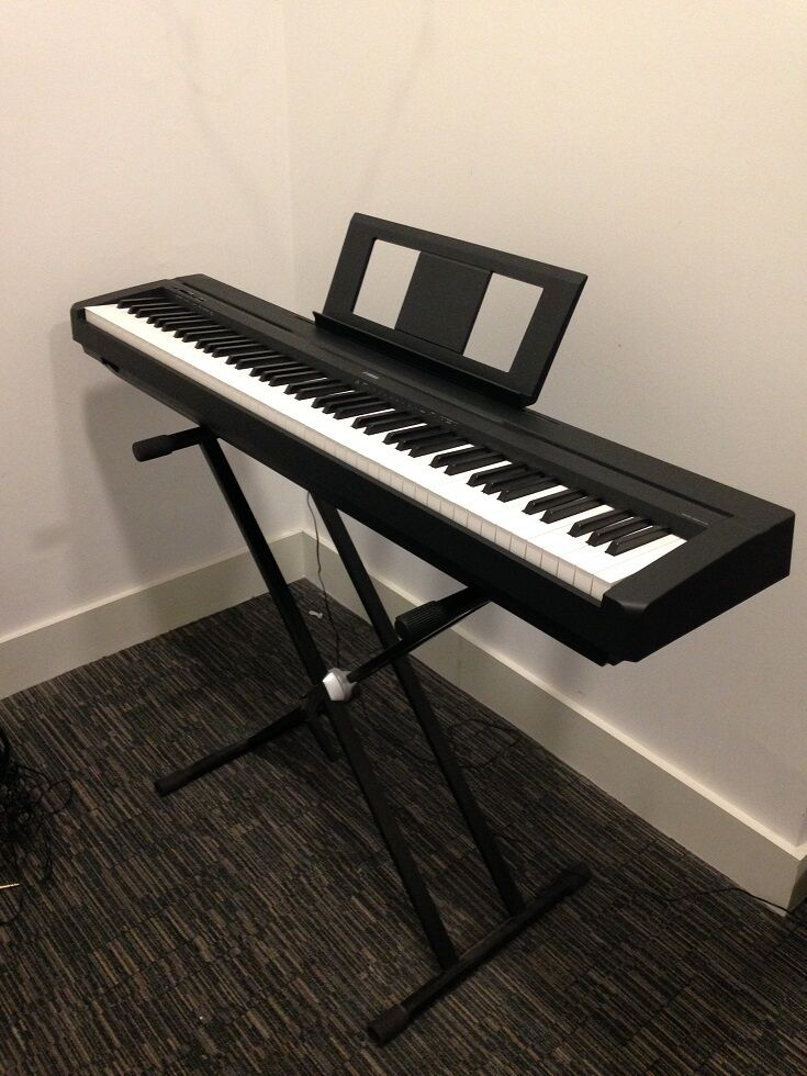 yamaha p45 digital piano like new in hyde park london gumtree. Black Bedroom Furniture Sets. Home Design Ideas