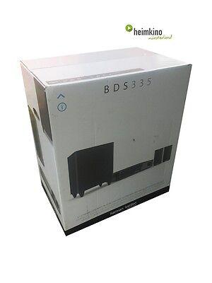 Harman Kardon BDS 335 3D BluRay Heimkinosystem WLAN, 4k (Schwarz) NEU Fachhandel