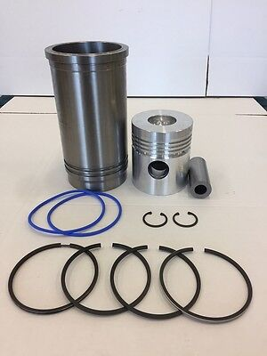ZETOR TRACTOR PISTON/RING/LINER KIT 4 RING 70110099 4911 5045 6911 6945 7011 for sale  Georgetown