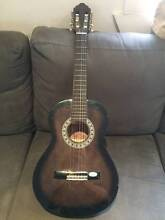 VALENCIA  1/2 size GUITAR with bag, strap and dvd Grange Brisbane North West Preview
