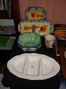 Decorative Ceramic large plates. Alexander Heights Wanneroo Area Preview