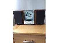Sony Mini Hifi CMT-EX1 CD/Radio Player with Remote