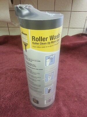 NEW WAGNER PAINT ROLLER WASH CLEAN UP WALL MAGIC SEALED CONTAINER HOME BUSINESS