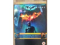 Batman Begins & The Dark Knight limited edition 4 disc box set. Exc condition. £5.