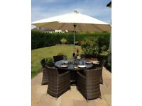 Rattan Outdoor Furniture 6 Seater