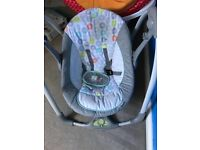 Baby swing-excellent condition- 5 different speeds. Plays melodies.