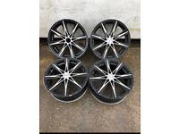 """17"""" Mania Brooklyn alloy wheels 4x100 / 4x108"""