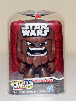 Mighty Muggs Chewbacca Star Wars Hasbro 2018 Version NEW in Stock #2