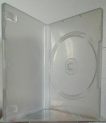 DVD Hüllen Matt Transparent - DVD / CD / Leerhüllen NEU - 10 Stück - NEU Amaray