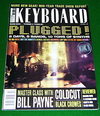 Black Crows' Keyboard ist Master Class, Quasimidi Raven Review in 1996 Magazine, used for sale  Canada