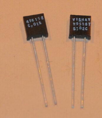 Vishay Foil Resistors S102k 49k152 .01 2pcs