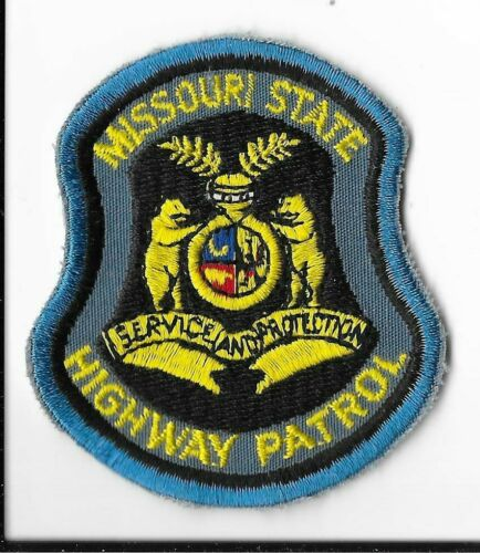Missouri State Highway Patrol Hat Patch