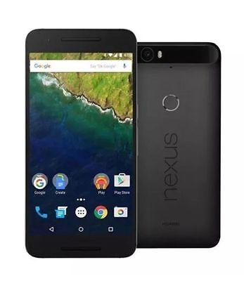 Huawei - Nexus 6P 4G with 32GB Cell Phone (Unlocked) - Graphite 9/10
