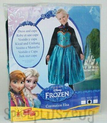 Disney Frozen Die Eiskönigin Anna Kostüm Kleid Karneval Fasching 5-6 Jahre NEU ()