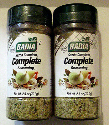 2 pack The Original Badia Complete Seasoning 2.5oz - Total 5oz Sealed BB1-2/2024