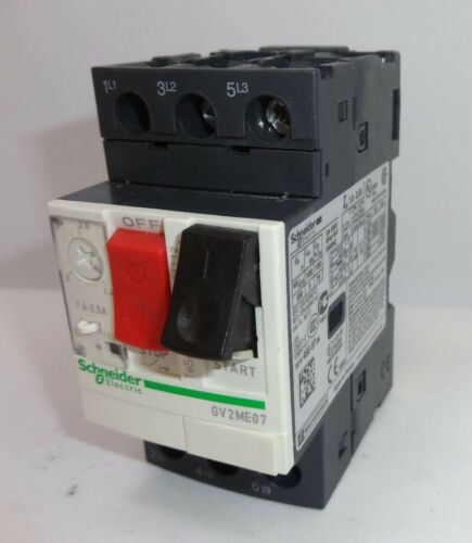 Schneider Electric GV2ME07 Thermal-Magnetic motor circuit breakers