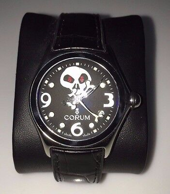 LIMITED EDITION CORUM BUBBLE JOLLY ROGER COLLECTOR'S SERIES WATCH
