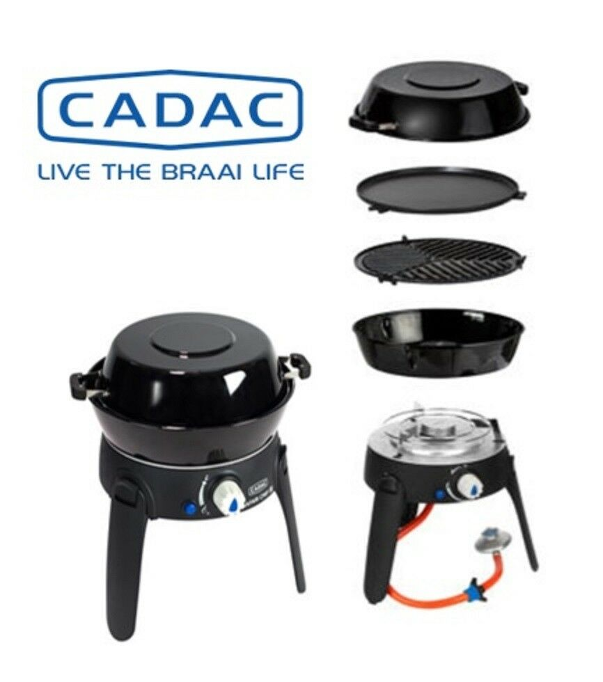 CADAC Gasgrill Safari Chef 2 Lite - Gas Camping Kocher Grill Outdoor 30 mBar