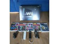 Nintendo Wii in black